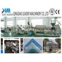Buy cheap with UV coating  polycarbonate pc solid/embossed sheet making machine product