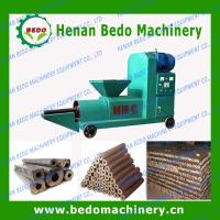 China electric motor biomass briquette making machine  for sale on sale