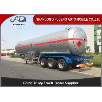 Buy cheap 58800 Liters LPG Tank Trailer 40 Foot LPG Storage Tank Steel / Aluminum Material product