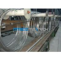 Buy cheap TP304 Stainless Steel Coiled Tubing ASTM A269 product