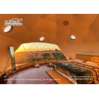Buy cheap 8m Diameter Geodesic Dome Glamping Tent For Outdoor Hotel Reception product
