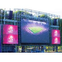 Concert P8 Outdoor LED Display Board Die Casting Aluminum Cabinet 1/4 Scan Driving