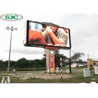 Buy cheap High Resolution Outdoor Full Color LED Display SMD P10 1/2 Scan Fixed Beautifull from wholesalers