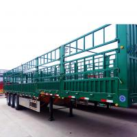 Buy cheap Tri - Axle 45 Tons Heavy Duty Semi Trailers For Warehouse / Store House product