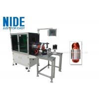 Buy cheap Horizontal Coil Stator Winding Inserting Machine / Automatic Stator Coil Insertor product