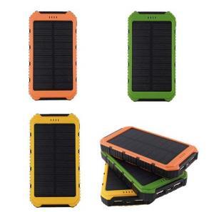 Buy cheap 10000mAh USB Solar Power Bank Wateproof Outdoor Solar Power Bank product