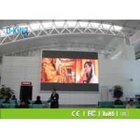 Buy cheap P2.5 Hospital / Bank Large Outdoor LED Video Wall 160000 dots/M2 Pixel Density product