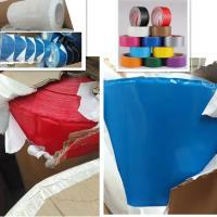 Buy cheap Free Sample Heavy Duty Industrial Hot Melt Customized Colorful Cloth Duct Tape product