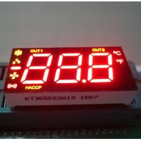 Buy cheap Ultra Red / Yellow Numeric LED Display 0.5 inch for Refrigerator Control product