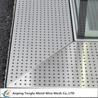 Buy cheap Perforated Metal Grating Made by Stainless Steel for Constructions product