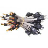 China IP68 Standard Wiring Harness Kit Overmolded Connector Teflon Coated AWG16 on sale