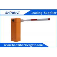 Intelligent Parking Lot Barrier Gate, Vehicle Boom Barrier With Traffic Light