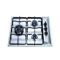 Buy cheap 3 Burner Stainless Steel LPG Gas Hob With Safety Device , 3 Burner Steel Gas from wholesalers