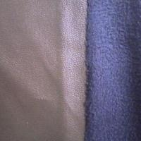 China PU suede fabric, very soft, used for garments on sale