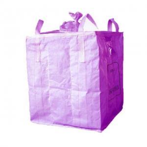 Buy cheap Virgin PP Woven Reusable Jumbo Bag Custom Size / Color Available 1000kg - 2500kg product