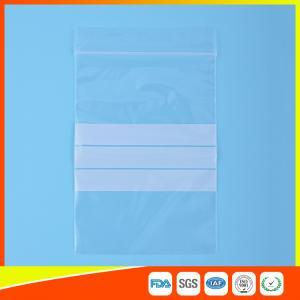 Buy cheap El Ziplock plástico del embalaje del sello de la cremallera empaqueta la bolsa from wholesalers