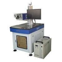 Buy cheap Laser Wire Marking Machine Cold Light For Mobile Parts for plastic from wholesalers