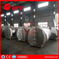Buy cheap DYE Stainless Steel Milk Transportation Tank Direct Expansion Refrigeration product