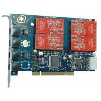 Buy cheap TDM410P 4 Port with 4 FXO Modules Asterisk Card for Voip product