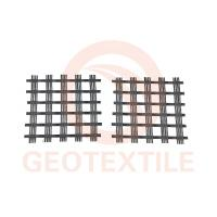 Buy cheap Warp Knitted Polyester Geogrid For Soil Reinforcement High Strength 3.95m Width product
