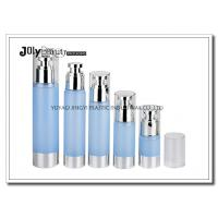 Buy cheap Clear Plastic Airless Pump Bottles Containers , Empty Cosmetic Containers product