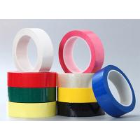 China Color Green PET Polyester Mylar Tape Coating With Acrylic Glue insulation tape on sale