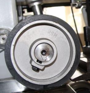 Rubber feeding roller