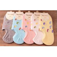 Cotton Women's Seamless Invisible Socks