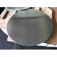 0.4mm to 5mm Mill Finished Aluminium Disc For Kitchen Ware 1050 1060 1100 3003 Bright Surface with DC Material for sale