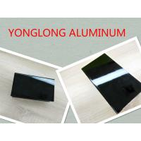 Buy cheap Electrophoretic Black Pearls Aluminum Window Frame Profile Normal Length 6m product