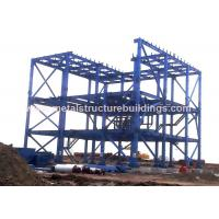 Quality Light Structural Steel Building Workshop Steel Sandwich Panel With Space Frames for sale