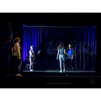 Buy cheap Holographic 3D Projection System Hologram Stage Show Pepper Ghost Technology product
