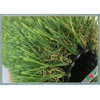 12800 Dtex No Glare Outdoor Synthetic Grass PU Coating For Garden / Landscaping