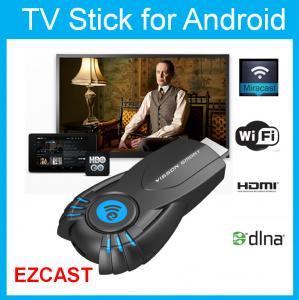 Buy cheap 無線Miracast人間の特徴をもつTVのドングルのWiFi HDMIの表示HDTV受信機 product