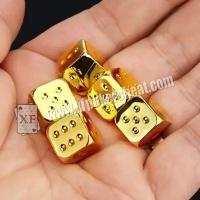 Buy cheap Regular Size Casino Magic Dice / Trick Permanent Numbers Dice For Private Game product