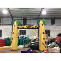 Buy cheap Digital Printing Inflatable Advertising Signs / Inflatable Arch Palm Tree product