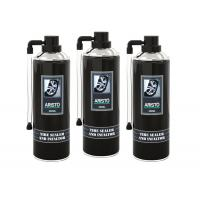 Buy cheap Automotive Tire Care Products 400ML Tire Sealer & Inflator Spray Liquid Coating product