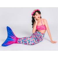 Buy cheap 6-14 Years Old Child's Mermaid Tail Costume 80% Spandex 20% Polyester product