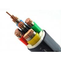 0.6/1kV Heat Resistant 3 Core Cable , Outdoor LSZH Sheath PVC Copper Cable