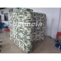 Buy cheap Inflatable Paintball Bunker Blindage with Durable Valves for Paintball Game product