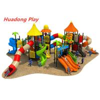 Buy cheap Outdoor Equipment Slide For Animal Paradise , Plastic Children's Playground from wholesalers