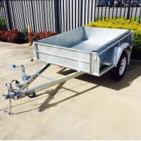 Buy cheap 7X4 Hot Dipped  Galvanised Trailer 750KG product
