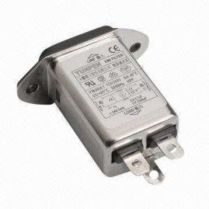 Buy cheap Módulo da entrada do poder com filtros para iem e conector YB01A1 do IEC product