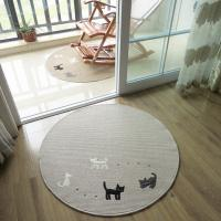 Buy cheap Anti-Slip Washable Floor Mat With Cat Logo Floor Covering Carpet From Carpets Factory product