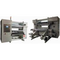 China Kraft Paper Slitting And Rewinding Machine With  Big Touch Screen on sale