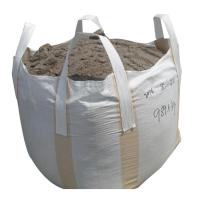 Buy cheap Dust Proof Polypropylene Big Bags , White Flat Bottom Woven Sack Bags product