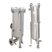 Buy cheap Industrial SS304 Basket Type Filter High Pressure Water Pre Filtration Stainless Steel Bag Cartridge 32 Inch 5 Microns product