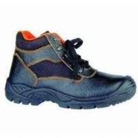 China Steel Toe Leather Safety Shoes on sale