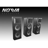 Buy cheap Powered Conference Hall Sound System 37 Hz-20 KHz With Birch Plywood product