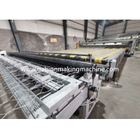 Buy cheap PLC Control System Automatic Wrapped Edge Gabion Machine Edge Wrapping Machine Double Twist product